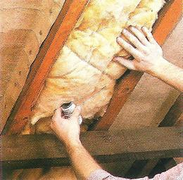 FITTING BLANKET INSULATION